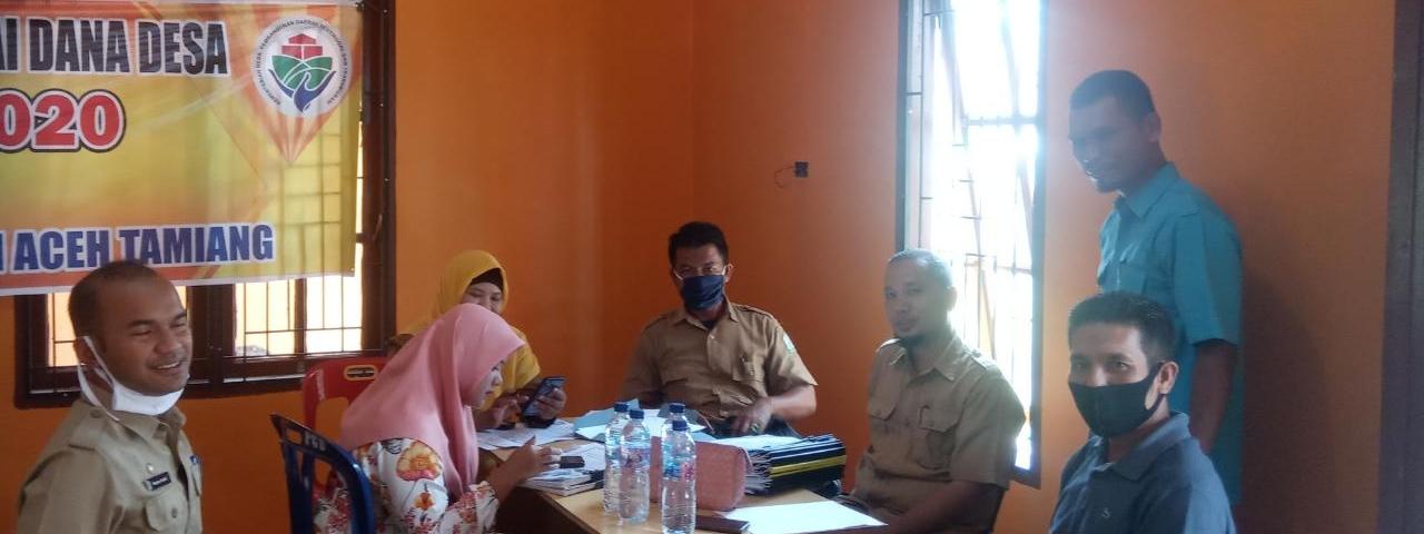 Pelaksanaan Kegiatan Pembinaan Administrasi Kampung se Kecamatan Bandar Pusaka